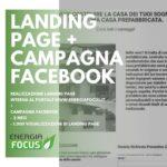 Landing + Campagna Facebook EnergiaFocus