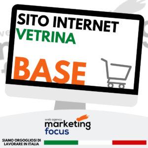 Sito Internet Vetrina BASE